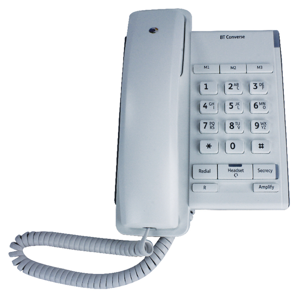 BT Converse 2100 Corded Phone White 040205