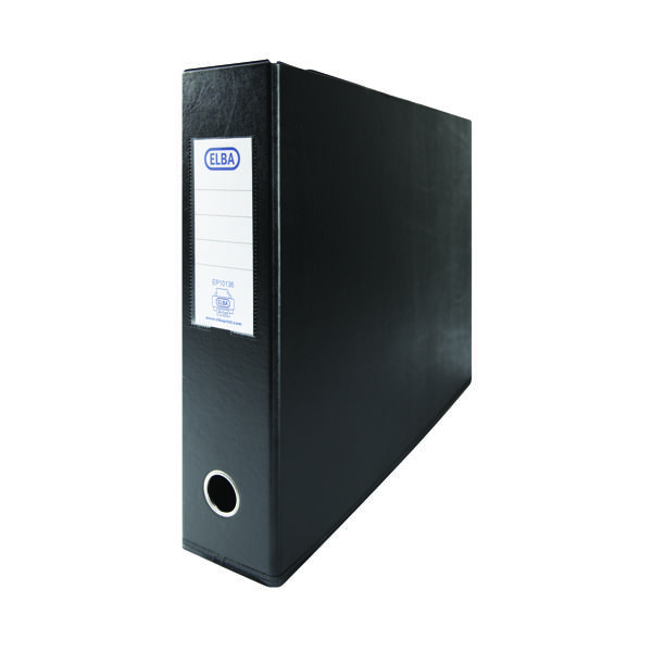 Elba 70mm Lever Arch File A3 Black (Pack of 2) 400008440