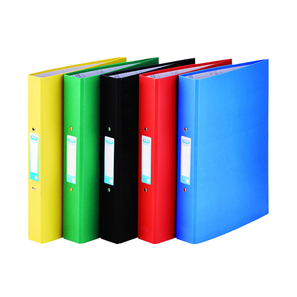 Elba A4 Assorted 25mm Paper Over Board Ring Binder (Pack of 10) 400033510