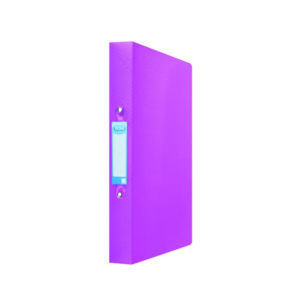 Elba Ring Binder 25mm Capacity A4 Pink 400104457