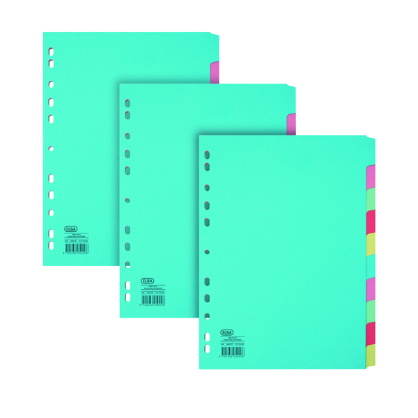 Elba Dividers 10 Part A4 Manila 3 For 2 BX810444