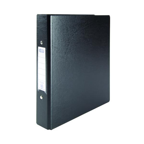 Elba 25mm 2 O-Ring Binder A5 Black (Pack of 10) 100082442