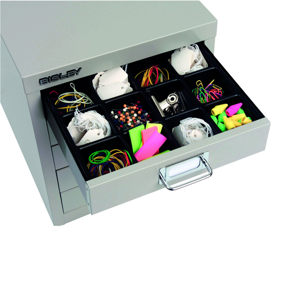 Bisley Multi Drawer Insert Tray Plastic 16 Compartments 225P5