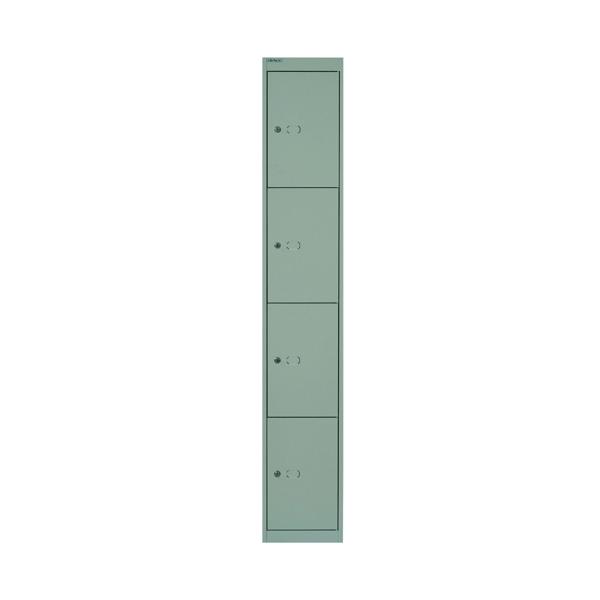 Bisley 4 Door Locker D457mm Goose Grey BY02537