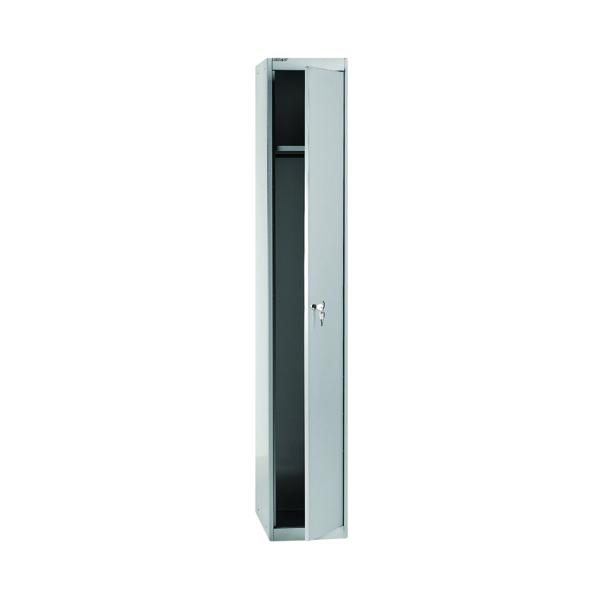 Bisley 1 Door Locker D305mm Goose Grey BY08945