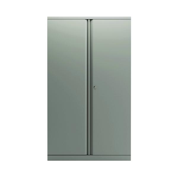 Bisley 2 Door 1570mm Cupboard Empty Goose Grey KF78712