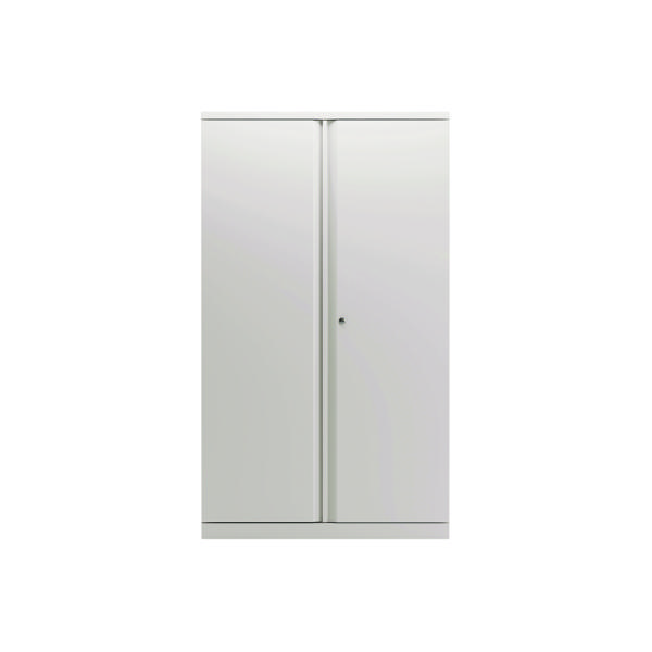 Bisley 2 Door 1570mm Cupboard Empty Chalk White KF78713