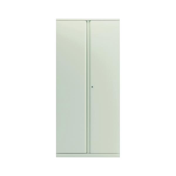 Bisley 2 Door 1970mm Cupboard Empty Chalk White KF78716