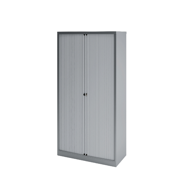Bisley Tambour 1000mm Empty Silver BY78722
