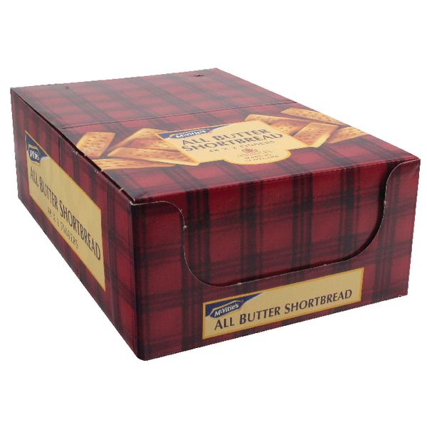 48 x McVities All Butter Shortbread (Each sachet contains 2 finger shortbreads) 71482