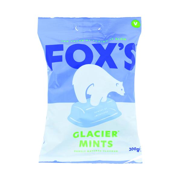 Foxs Glacier Mints 195g (No artifical colours or flavours) 0401004