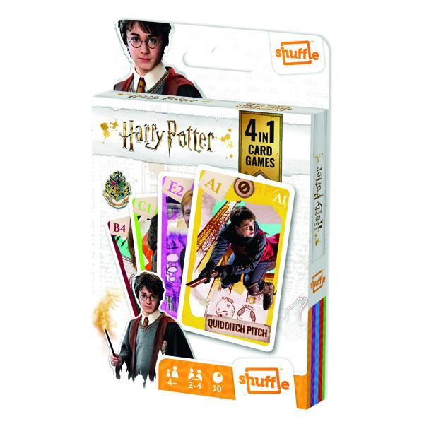 Shuffle Harry Potter 4-in-1 Pk12