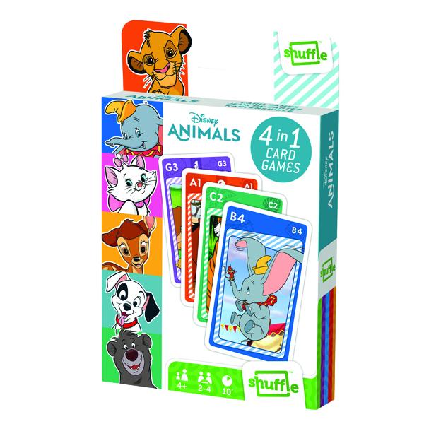 Shuffle Animals 4-in-1 Pk12