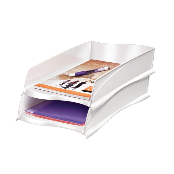 CEP Ellypse Xtra Strong Letter Tray White 1003000021
