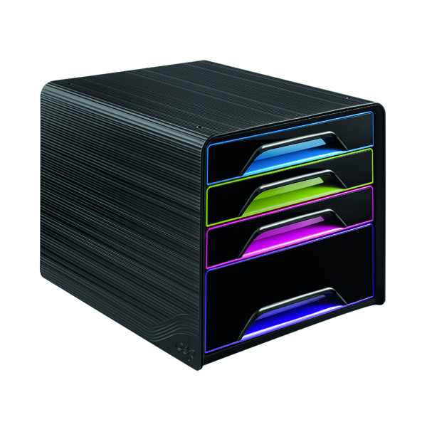 CEP Smoove 4 Drawer Module Black/Multicolour 7-113 GM