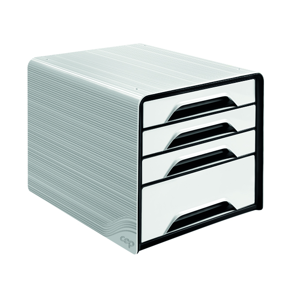 CEP Smoove 4 Drawer Module White 7-113 White