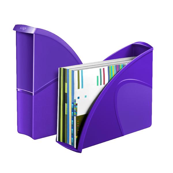 CEP Pro Gloss Magazine File Purple 674GPURPLE