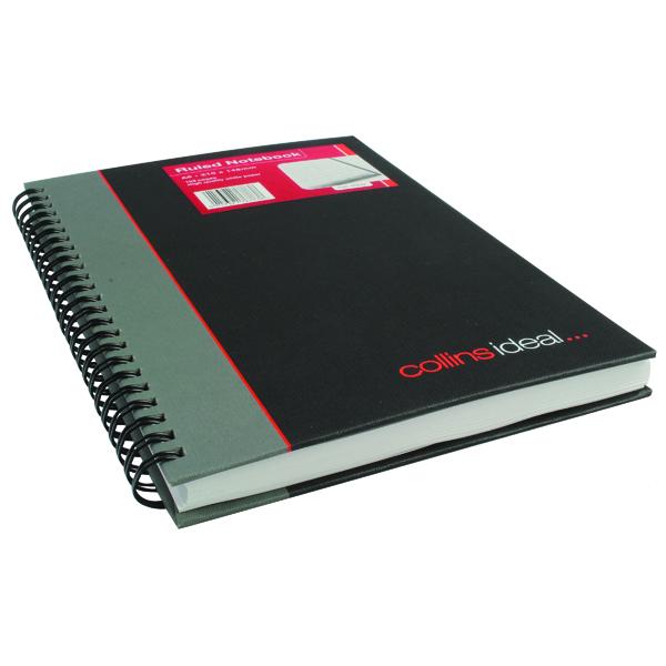 Collins Ideal Feint Ruled Wirebound Notebook A5 468W