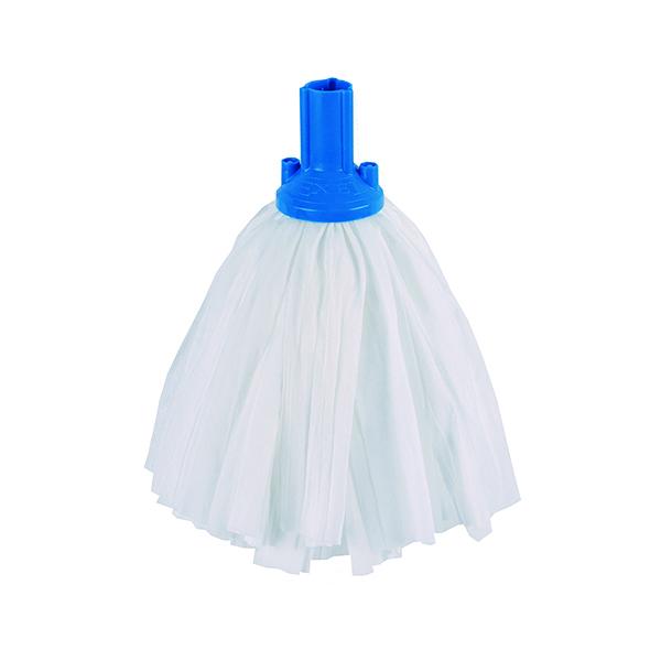 Exel Big White Mop Head Blue (Pack of 10) 102199BU