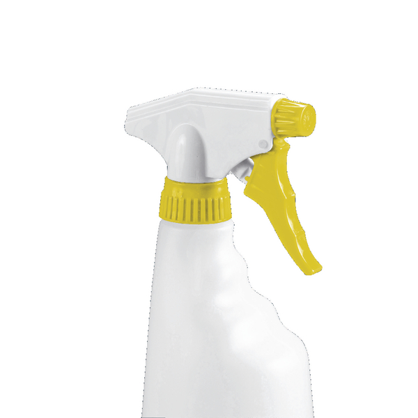 2Work Trigger Spray Refill Bottle Yellow (Pack of 4) 101958YL