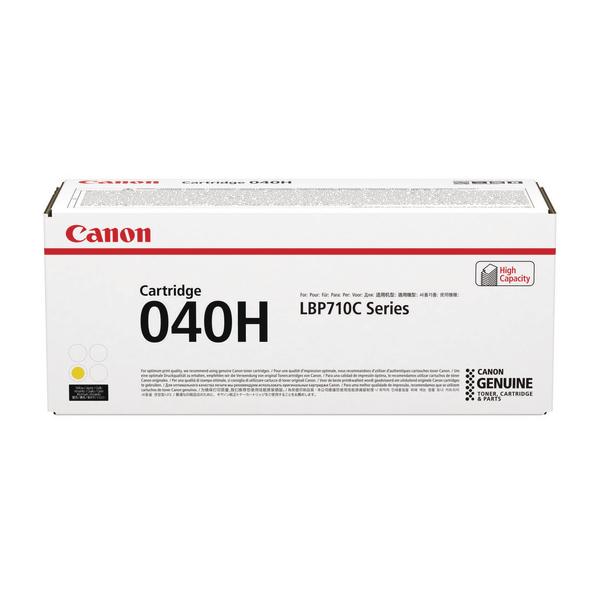 Canon 040H Yellow High Capacity Toner Cartridge 0455C001