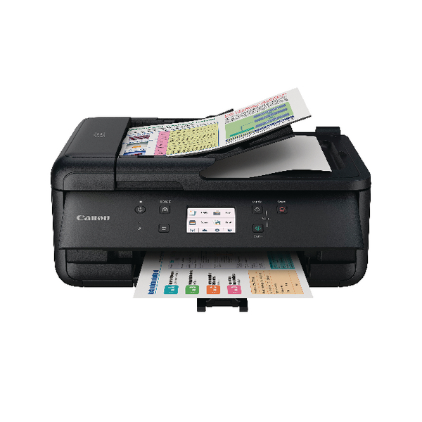 Canon PIXMA TR7550 A4 Colour Multifunction Inkjet Printer 2232C008
