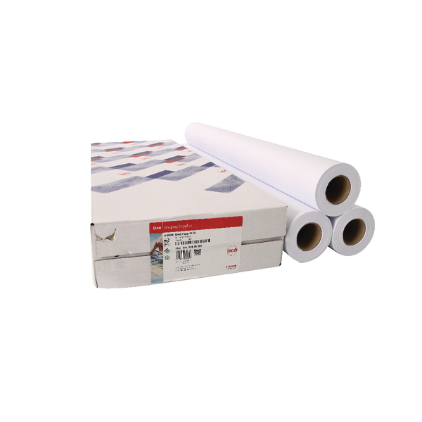 Canon Uncoated Draft Inkjet Paper 841mm x 50m (Pack of 3) 97003455