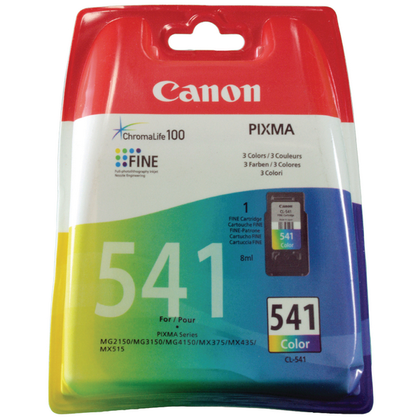Canon CL-541 Standard Yield Colour Ink Cartridge 5227B005?