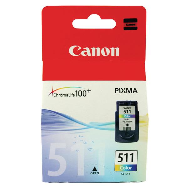 Canon CL-511 CMY Colour Ink Cartridge 2972B001