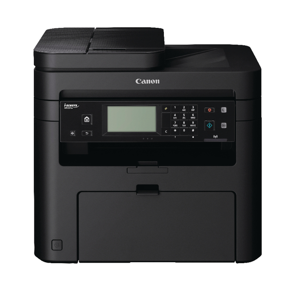 Canon i-Sensys MF237w Mono Laser Printer (All in one machine - print, copy, scan and fax) 1418C111
