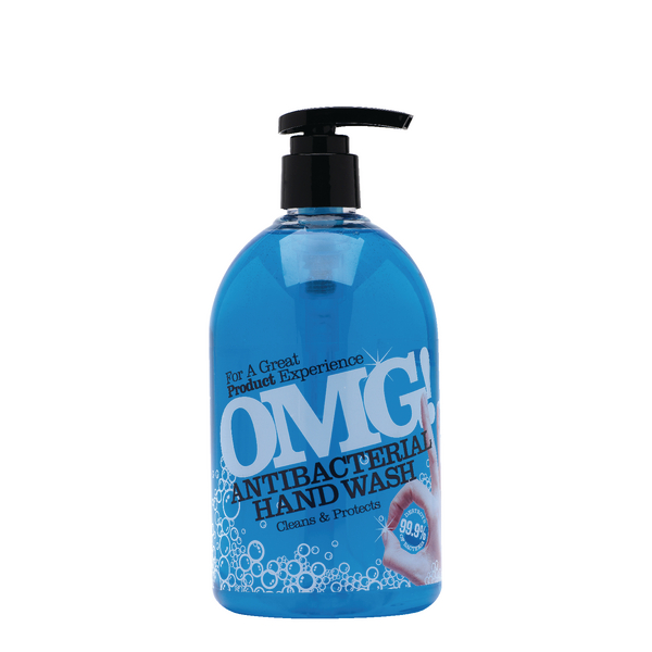OMG Antibacterial Tea Tree Hand Wash 500ml 0604398