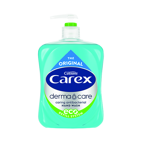 Carex Antibacterial Liquid Hand Wash 500ml (Pack of 6) 0604256