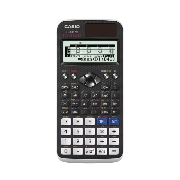 Casio Graphic Calculator (552 Functions, 47 Scientific Constants) FX-991EX