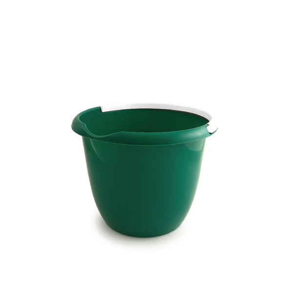 Plastic 10 Litre Bucket Green BUCKET.10G