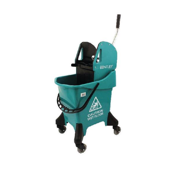 Hygineer Ergonomic Heavy Duty Mop Bucket Green 31 Litre HRMB31/G