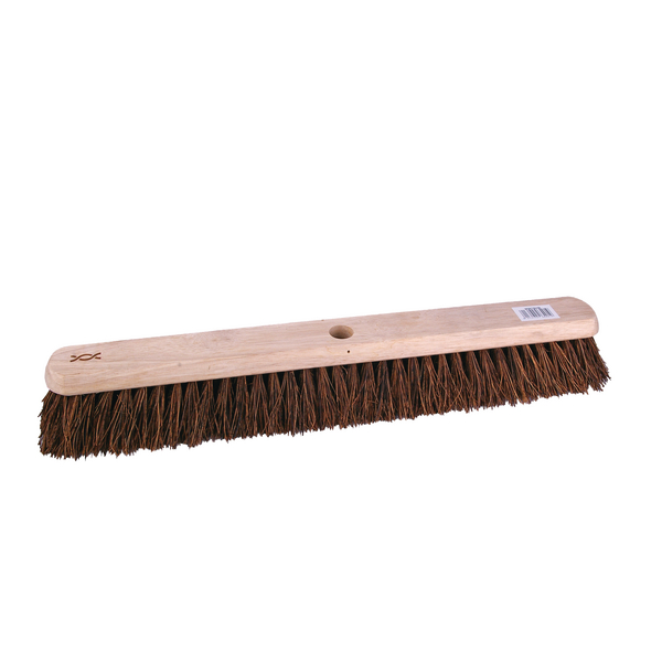 24 Inch Platform Broom with Stiff Bristles and 1400mm Handle 102884