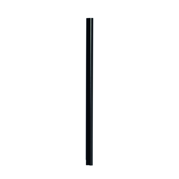 Durable A4 Black 6mm Spine Bars (Pack of 50) 2931/01