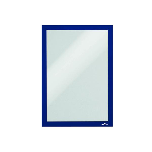 Duraframe Self-Adhesive Duraframe A4 Blue (Pack of 10) 4882/07