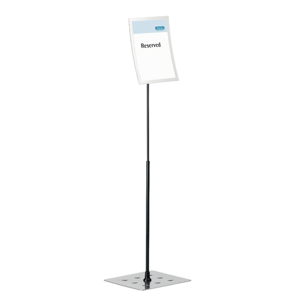 Durable Duraview Stand A4 Silver 498123