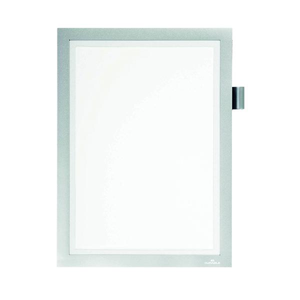 Durable Duraframe Note A4 Silver 499323
