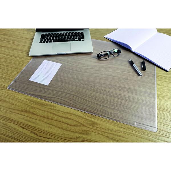 Durable Desk Mat 400x530mm Duraglas 7112