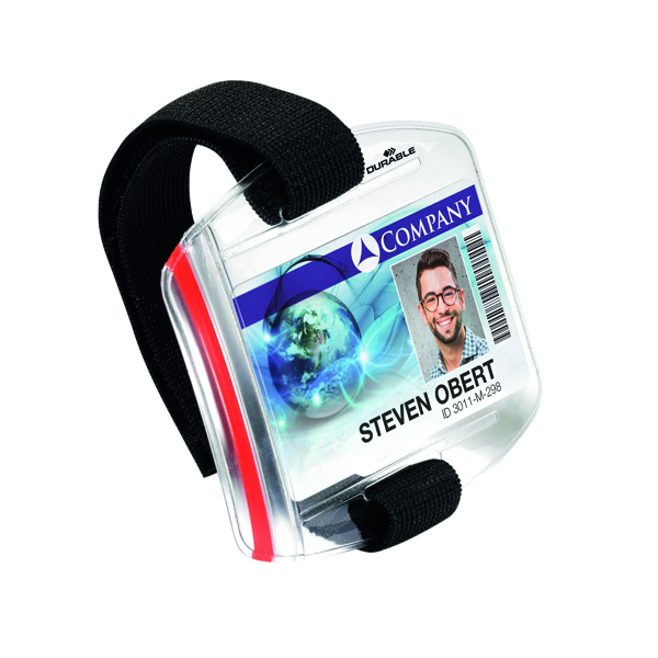 Durable Security ID Armband (Pack of 10) 8414