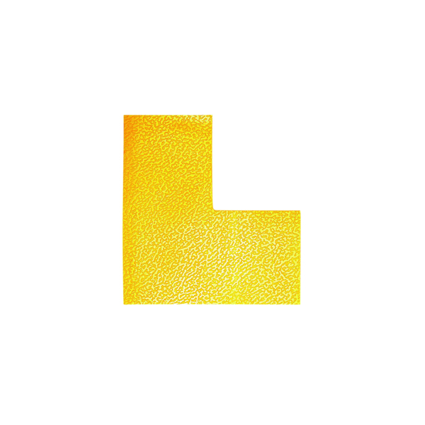 10 x Durable Floor Marking Shape L (Abrasion resistant and hard-wearing) 170204