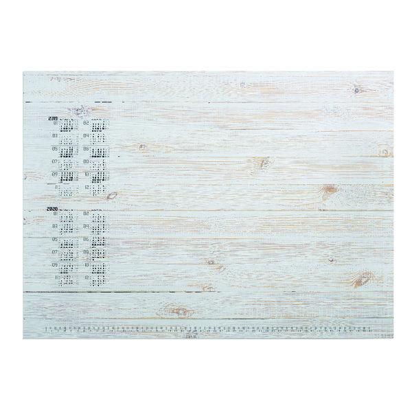Durable Pinewood Panels Calendar Desk Mat Refill 570 x 410mm 7322