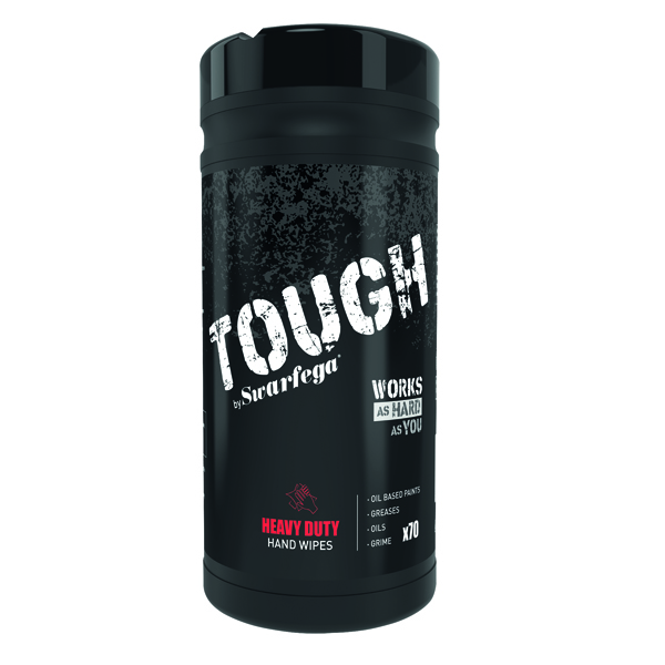 Deb Tough Heavy Duty Wipes 70 (Pack of 6) STHW70W