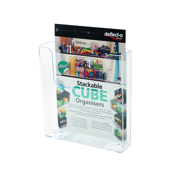 Deflecto Flat Back Literature Holder A5 DE76301