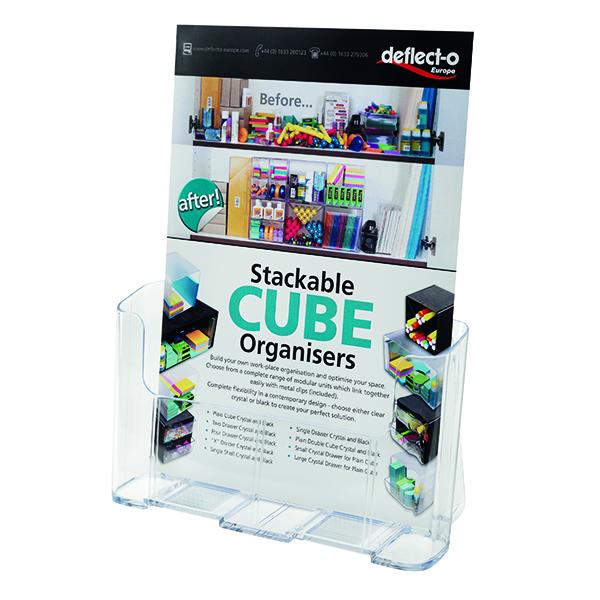 Deflecto DL Literature Holder A4 77001