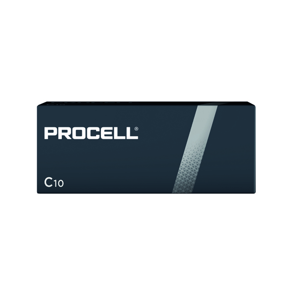 Duracell Procell C Batteries (Pack of 10) 5007609