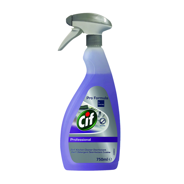 Cif Professional 2-in-1 Cleaner and Disinfectant 750ml 7517920
