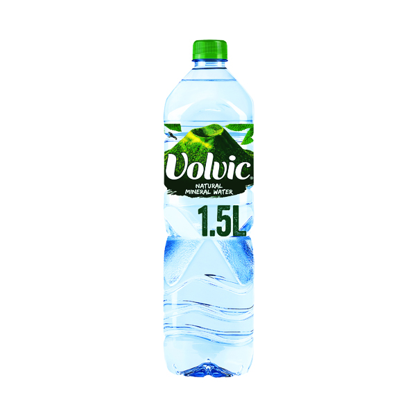12 x Volvic Mineral Water 1.5 litre (Provides excellent hydration) 8873